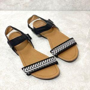96c375b86 GAP · GAP Black Sandals